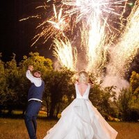 Fireworks for weddings